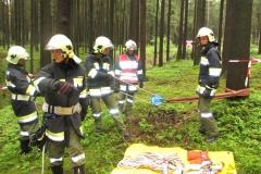 Waldbrandübung 2017